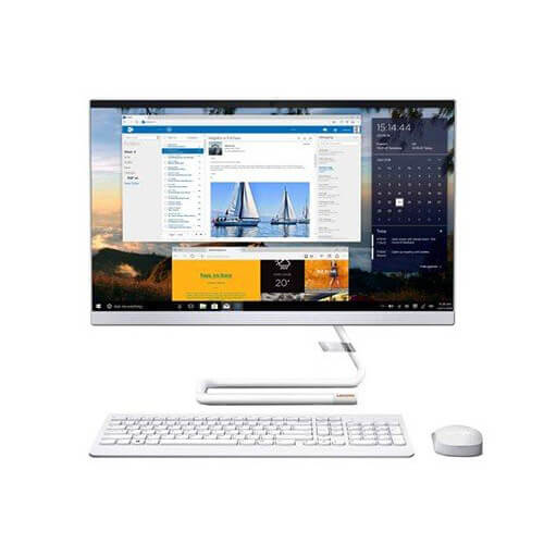 """Lenovo ideacentre A340-24ICB F0E6009RAX White (Core i5, 8GB, 1TB, 23.8"""" FHD Touch, 2GB AMD, Win10)"""