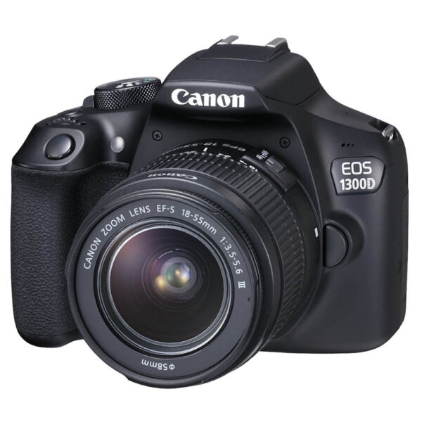 Canon EOS 1300D DSLR Camera with EF-S18-55 DC III F3.5-5.6 Lens Kit