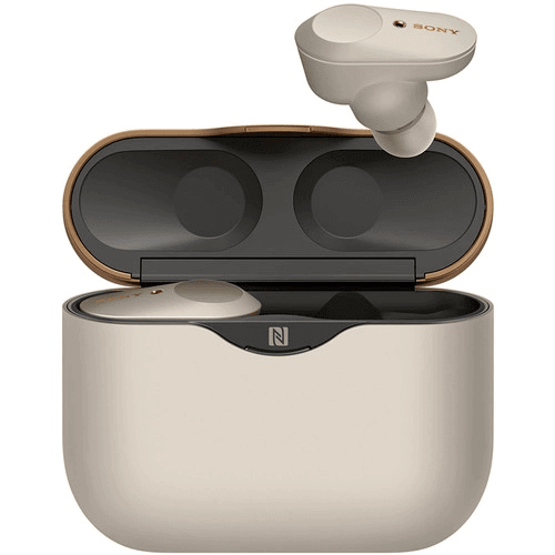 Sony WF-1000XM3 True Wireless Noise-Canceling In-Ear Earphones Silver