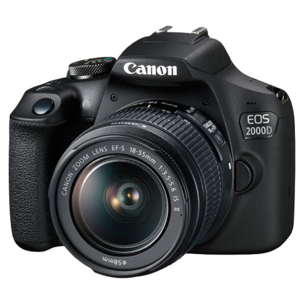 Canon EOS 2000D Camera with EF-S 18-55mm IS II Lens Kit