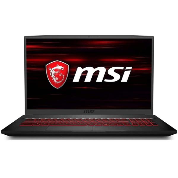 MSI GF75-THIN-10SCSR-9S7-17F412-401 Black (Intel Core i7, 16GB RAM, 512GB SSD, 17.3 FHD 144HZ, Wireless, NVIDIA Graphics 4GB GTX1650TI, Windows 10 )