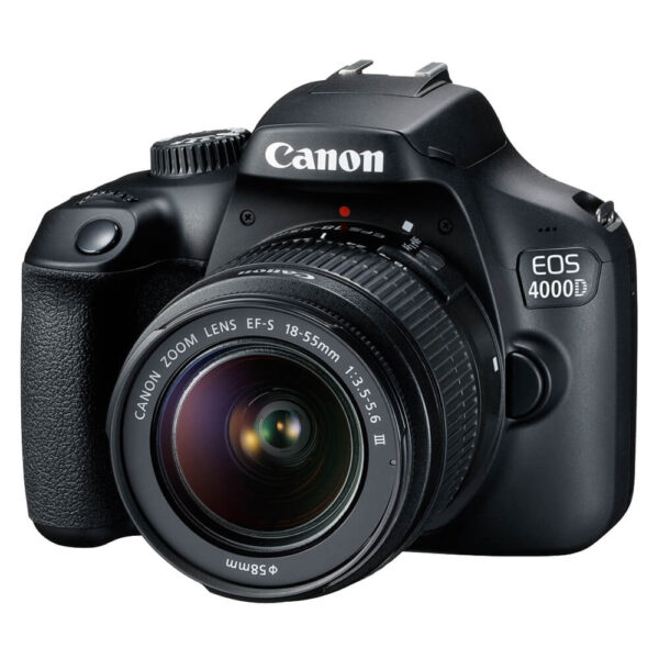 Canon EOS 4000D Camera with EF-S 18-55mm III Lens
