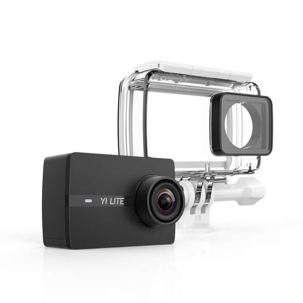 YI Lite Action Camera Waterproof Case Set Black