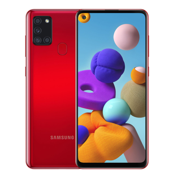 Samsung Galaxy A21s Dual Sim SM-A217F/DS 3GB/32GB 4G LTE Red