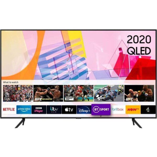 """Samsung QE50Q67TAUXRU 50""""(127sm) Flat Smart 4K QLED TV (2020)"""