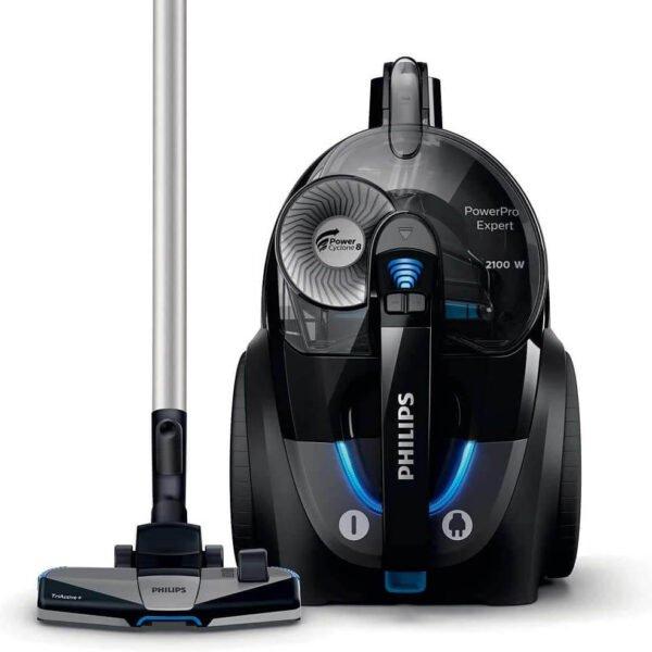 Tozsoran Philips Power Pro Expert Bagless Vacuum Cleaner FC9732 Black