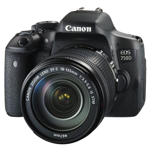 Canon EOS 750D Kit with 18-135mm IS STM Lens