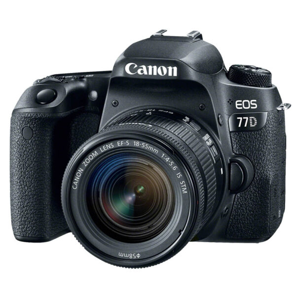 Canon EOS 77D DSLR 18-55mm STM Kit