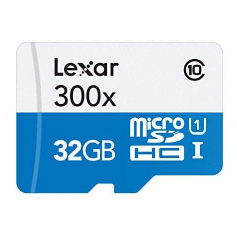 Lexar 32gb 300x 45mb/s microsdhc