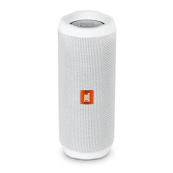 JBL Flip 4 Wireless Portable Stereo Speaker (White)