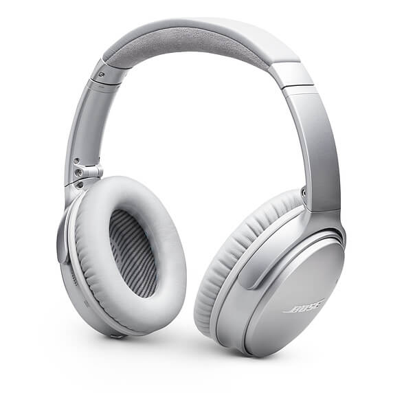 Bose QuietComfort 35 Series II Wireless Noise Cancelling Headphones Silver
