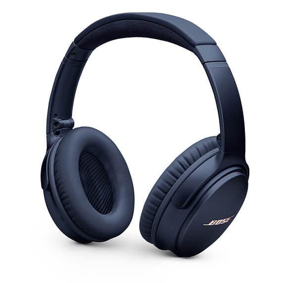 Bose QuietComfort 35 Series II Wireless Noise Cancelling Headphones Dark Blue
