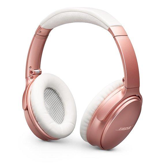 Bose QuietComfort 35 Series II Wireless Noise Cancelling Headphones Rose Gold