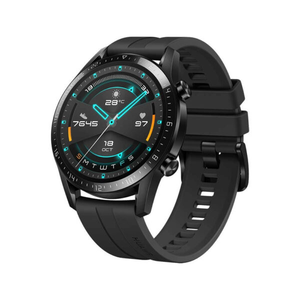 Huawei GT 2 Smart Watch with Fluoroelastomer,46mm,Black