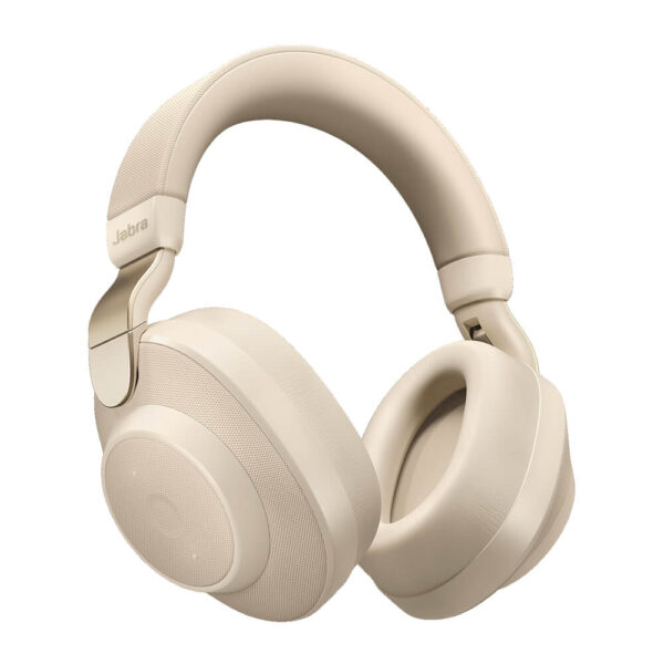 Jabra Elite 85h Wireless Noise-Cancelling Headphones Gold Beige
