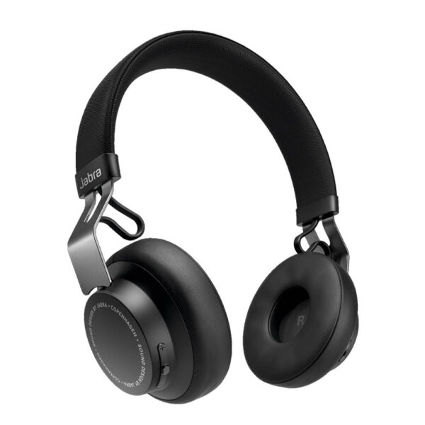 Jabra Move Style Edition Wireless Bluetooth Headphones - Titanium Black
