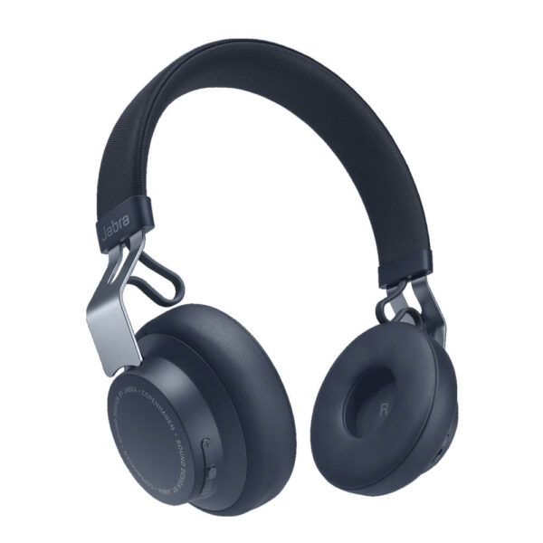 Jabra Move Style Edition Wireless Bluetooth Headphones - Navy Blue