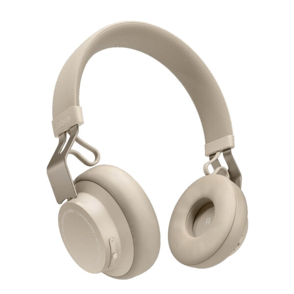 Jabra Move Style Edition Wireless Bluetooth Headphones - Gold Beige