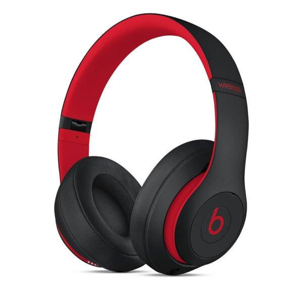 Beats Studio3 Wireless Over-Ear Headphones Defiant Black-Red