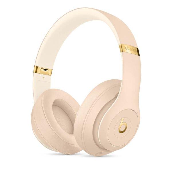 Beats Studio3 Wireless Over‑Ear Headphones - Desert Sand