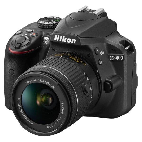 Nikon D3400 DSLR 18-55mm f/3.5-5.6G VR Kit