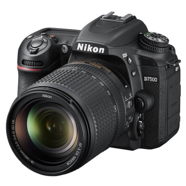 Nikon D7500 DSLR Camera with AF-S DX 18-140mm f/3.5-5.6G ED VR Lens Kit