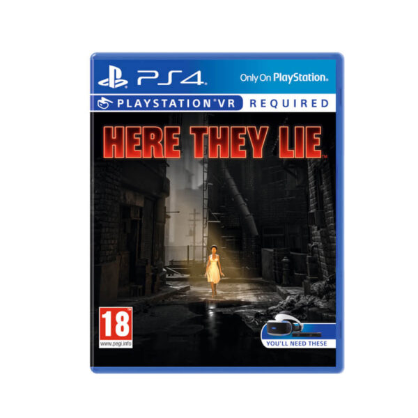 PS VR Here They Lie
