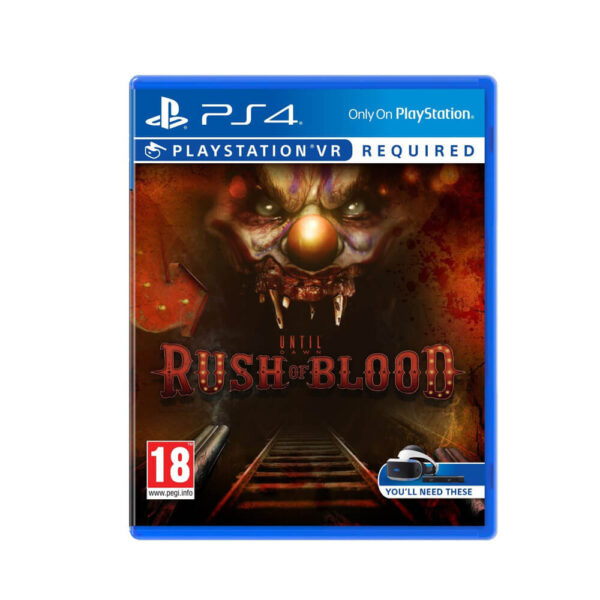 PS VR Until Dawn Rush Blood