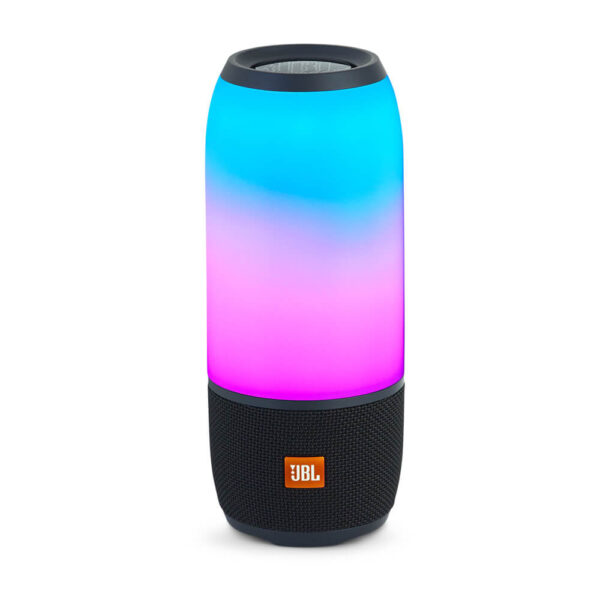 JBL Pulse 3 Waterproof Portable Bluetooth Speaker with 360° Lightshow and Sound - Black