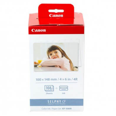 Canon KP-108IN Paper Set for CP1300