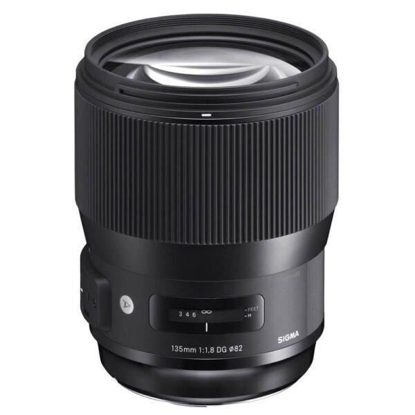 Sigma 135mm f/1.8 DG HSM Art Lens for Nikon F