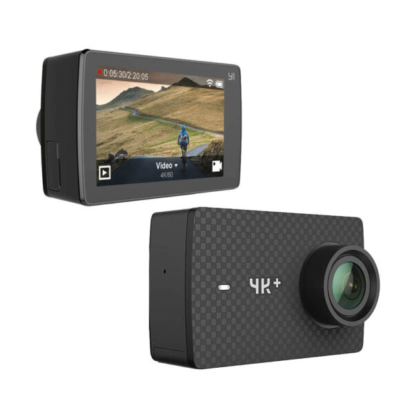 YI 4K Plus Action Camera Black