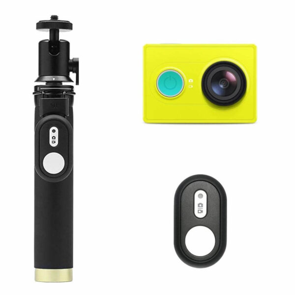 YI Action Camera Selfie Stick Set Green