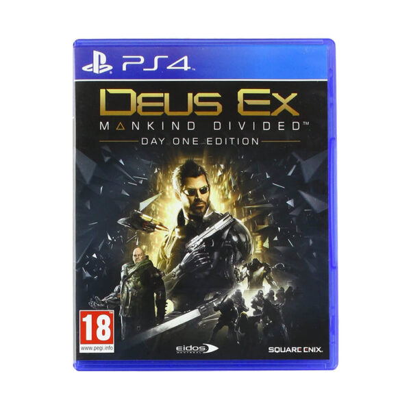 PS4 Deus Ex : Mankind Divided Day One Edition