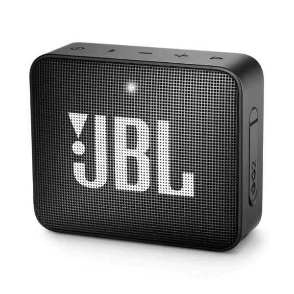 JBL GO 2 Portable Bluetooth Speaker Black