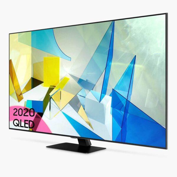 """Samsung QE49Q87TAUXRU 49""""(124sm) Flat Smart 4K QLED TV (2020)"""
