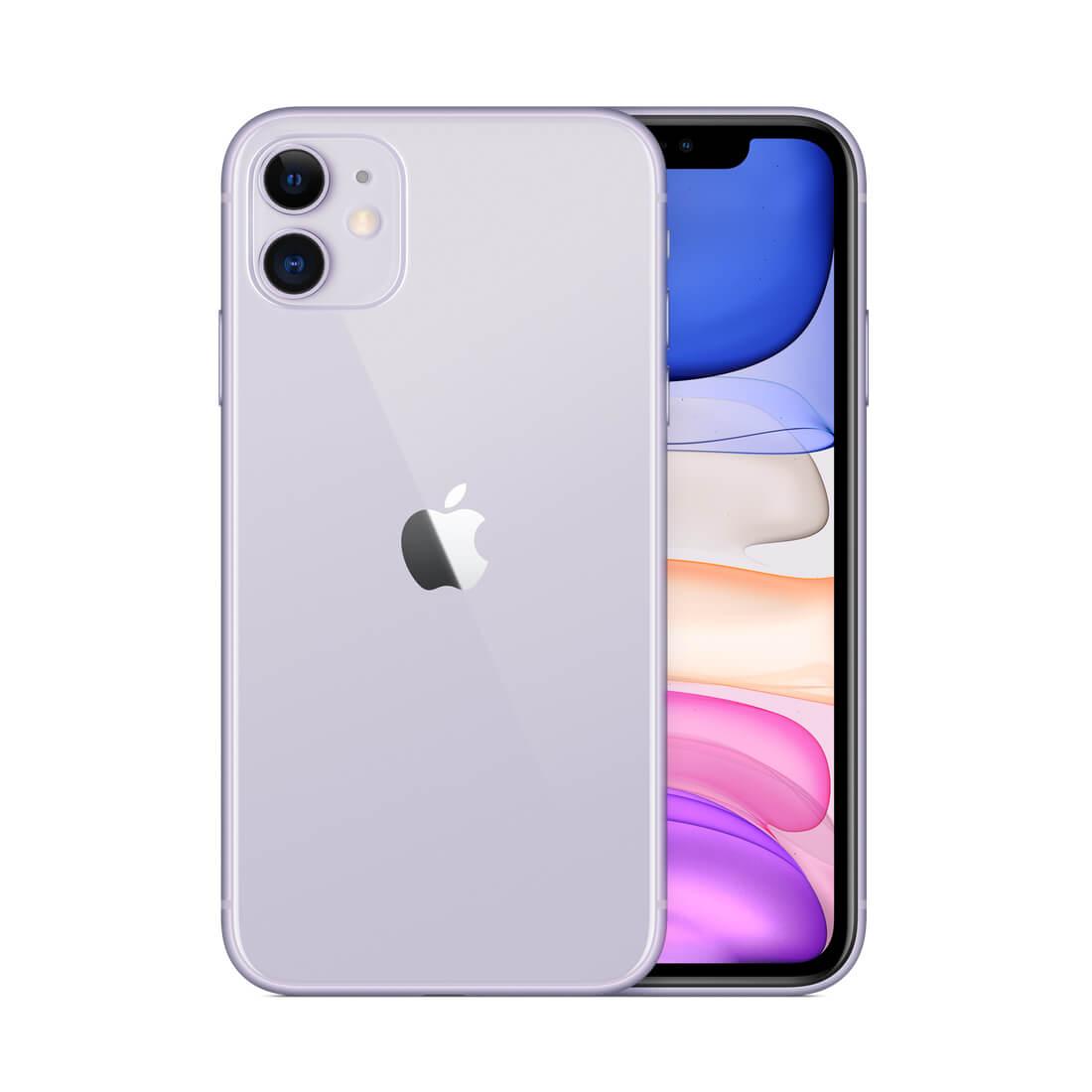Apple iPhone 11 64Gb Purple Single Sim With FaceTime