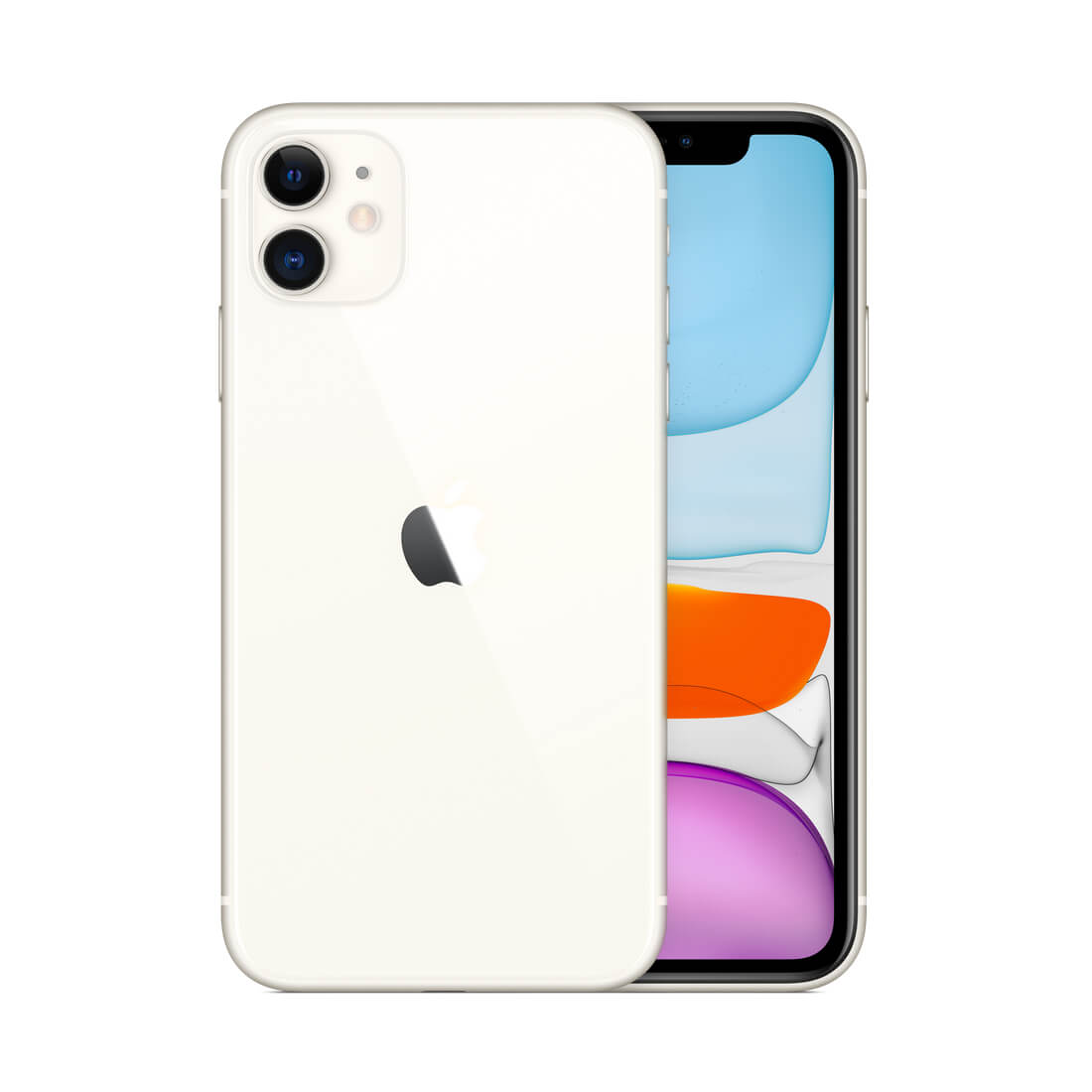 Apple iPhone 11 64Gb White Dual Sim With FaceTime