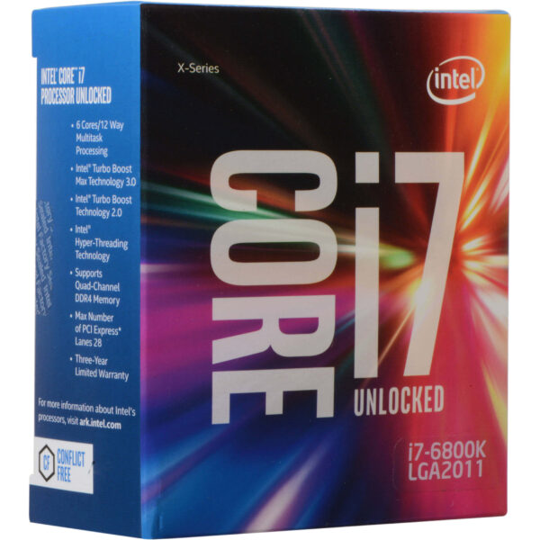 Intel Core i7-6800K 6th Generation