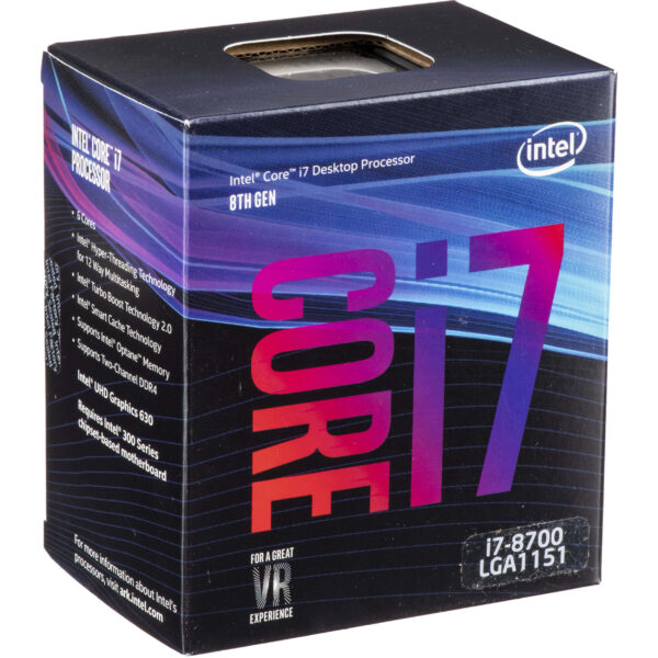 Intel Core i7-8700 8th Generation