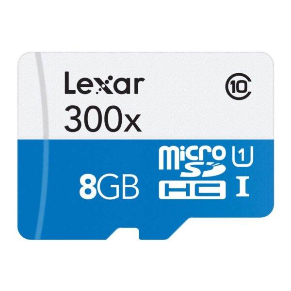 Lexar 8gb 300x 45mb/s microsdhc