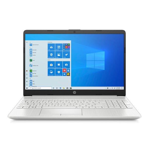 """HP 15 DW-2083NE-1C4N4EA SILVER ( Intel CORE i5 1035G1 1.0 GHZ, 8GB RAM, 128GB SSD+1TB HDD, 15.6"""" FHD, 2GB NVIDIA GF, Win10)"""