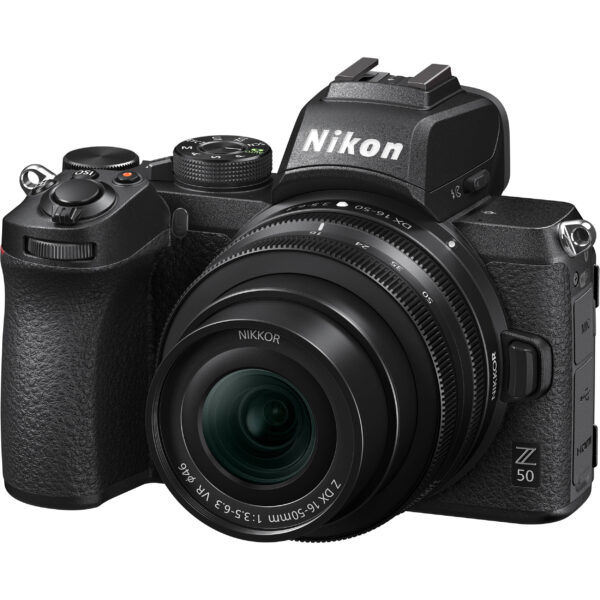 Nikon Z50 Mirrorless Digital Camera with 16-50mm f/3.5-6.3 VR Kit