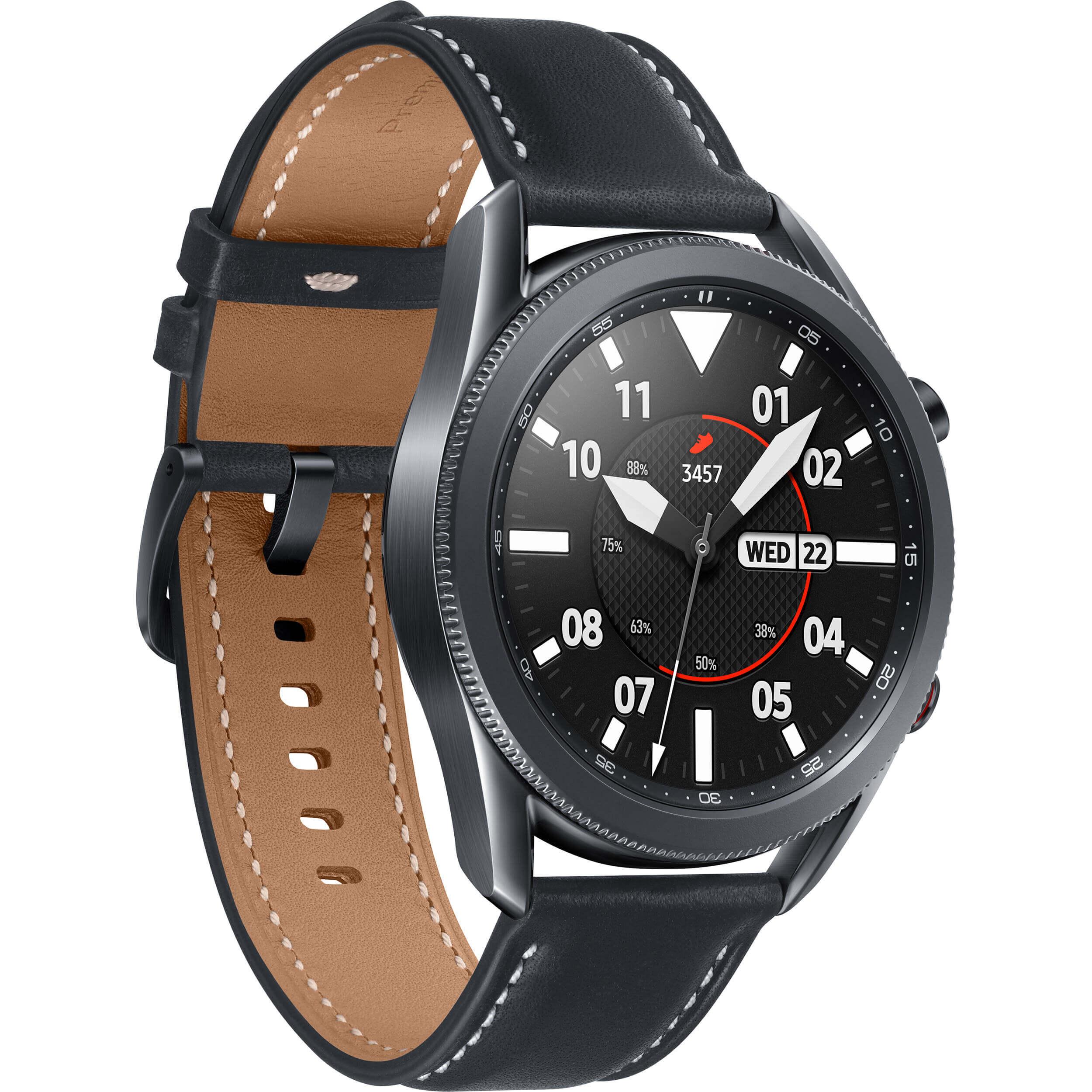 Samsung Galaxy Watch3 45mm Mystic Black (SM-R840)
