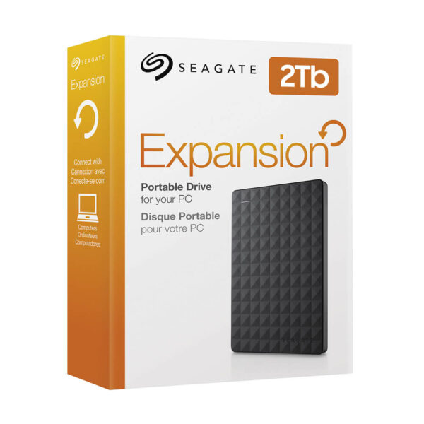 Seagate Expansion Portable 2TB External HDD