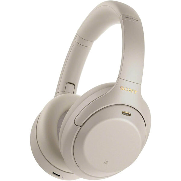 Sony Noise Cancelling Wireless Headphones Silver (WH-1000XM4)