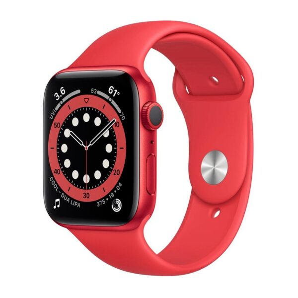 Apple Watch Series 6 GPS 40mm PRODUCT(RED) Aluminum Case with Red Sport Band (M00A3)